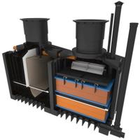 ClearFox Nature - Model 4 PE - Domestic Wastewater Treatment Plant