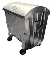 Novakovic - Model 1100L - 1.1 m³ Metal Containers Used to Collect Garbage
