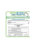 Ecobird - Model 14.5 - Goose & Bird Repellent - Brochure