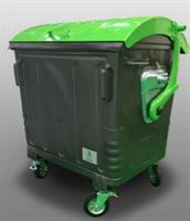 Model 1100L - Steel Bins with Dome Lid