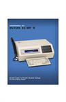 Intox - Model EC/IR II - Transportable Bench-Top Instrument Brochure