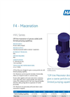 Model HVL - Macerator Brochure