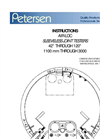 145-8 Series Joint Testers 42 through 120 Operating Instructions - Catalog