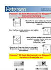 148-Series EZ-Swet Mechanical Line Stopper Plugs Instruction Summary - Catalog
