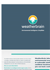 WeatherBrain Environmental Software Brochure