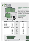 Model W - Light-duty Wood Shredders Brochure