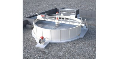 Model Series TQD - Decanter / Clarifier Tanks