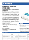 HK Instruments - Model CDT 2000 - Multifunctional CO2 Transmitters Brochure