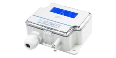 HK Instruments - Model DPT-R8 - Field Adjustable Multi Range Differential Pressure Transmitters for Air