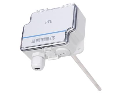 HK Instruments - Model PTE-Duct - Duct Temperature Sensor for HVAC Applications