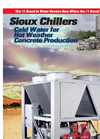 Sioux - Industrial Water Chillers Brochure