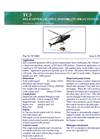 TC3 Helicopter Oil Spill Dispersant Spray System Technical Specification