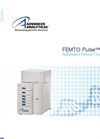 FEMTO - Model Pulse - Automated Pulsed Field CE Instrument Brochure