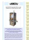AeroFid - 60 - Automatic Micro Leak Detector for Filled Aerosol Cans Brochure