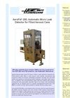 AeroFid - 200 - Automatic Micro Leak Detector for Filled Aerosol Cans Brochure