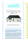 Model 3-500 - High Temperature Total Hydrocarbon Analyzer Brochure