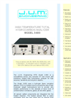 Model 3-600 - High Temperature Total Hydrocarbon Analyzer Brochure