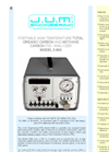 Model 3-900 - Portable High Temperature Total Organic Carbon and Methane Carbon FID – Analyzer Brochure