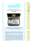 J.U.M. OVF-3000 - Portable, Heated FID Total Hydrocarbon Analyzer - Brochure