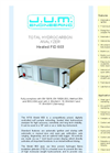 J.U.M. 603 Heated FID Total Hydrocarbon Analyzer - Brochure