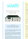 Model 3-300A - High Temperature Total Hydrocarbon Analyzer Brochure
