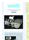 Model 2825PD - Compact Compressor or Sample Pump Brochure