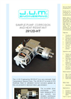 Model 2812D-HT - Compact, High Temperature Sample Pump Brochure