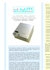 Model VE 112WP - Panel Mount Heated Sample Filter and Interface Brochure