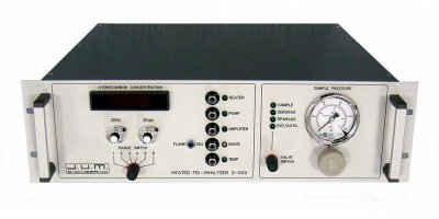 J.U.M. - Model 3-600 - High Temperature Total Hydrocarbon Analyzer