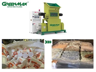 GREENMAX - Model MARS C100 - GREENMAX  MARS C100 densifier for polystyrene recycling