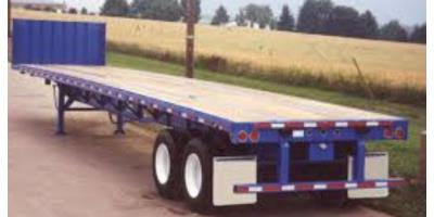 Flat Deck Trailer >> Fb2 Tandem Axle Flat Deck Air Brakes Trailers By J J