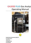GA3000 Plus - Gas Analyser Operating Manual
