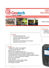 Geotech GEM 5000 Portable Landfill Gas Extraction Monitor Datasheet