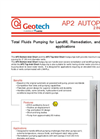 Geotech AP2 Bottom Inlet Short and Top Inlet Short AutoPumps - Datasheet