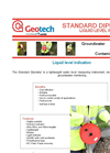 Geotech Dipmeter Water Level Measuring Instrument Datasheet
