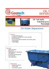 Geotech Oil Water Separator Datasheet