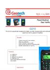 Geotech G 210 Portable N2O Gas Analyser - Datasheet