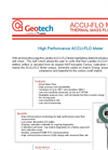 Accu-Flo Thermal Mass Flow Meter - Datasheet