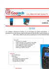 Geotech G 150 Portable CO2 Analyser - Datasheet