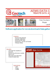 AEMS Data Centre Remote Data Acquisition Software - Datasheet