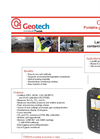Geotech GA 5000 Landfill and Contaminated Land Portable Gas Analyser - Datasheet