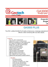 Geotech - Model GA3000 Plus - Fixed Biogas and Landfill Gas Analyser - Datasheet