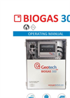 Biogas 300 Fixed Gas Analyser Datasheet - Operating Manual