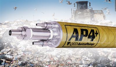 Geotech - Model AP4 Plus - Pneumatic Positive Air Displacement Pump