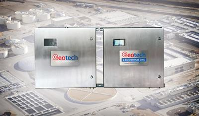 Geotech - Model BIOMETHANE 3000 - Fixed Gas Analysers