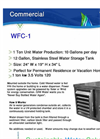 Model WFC-1 - Atmospheric Water Generator Brochure