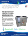 Model WFC-3T - Atmospheric Water Generator Brochure