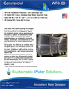 GR8 Water - Model WFC-80 - Atmospheric Water Generator - Datasheet