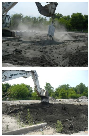 Contaminated Soil Fixation