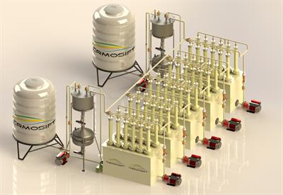 Thermosift - Model TS-30™ - Membrane Distillation (MD) Systems